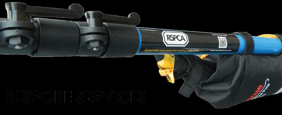 RSPCA. Animal Rescue, Rescue Stick, Water Rescue, RSPCA rescue equipment, Telescopic Pole