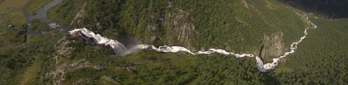 Waterfall Rescue, Surveillance Camera, Hivjufossen