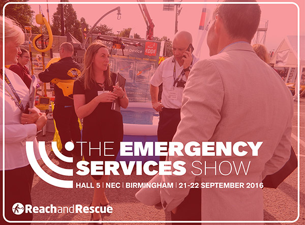Reach and Rescue at the Emergency Services Show 2016