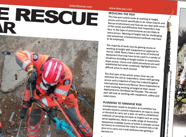 ReachandRescue, Rescue Pole, Rescue System, Reach Rescue, Height Rescue, Operator Safety, Saving Lives, Life Saving