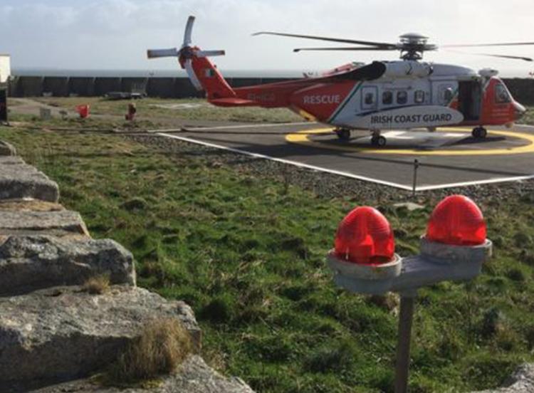 Helicopter Crash, Water Rescue, Irish Coastguard