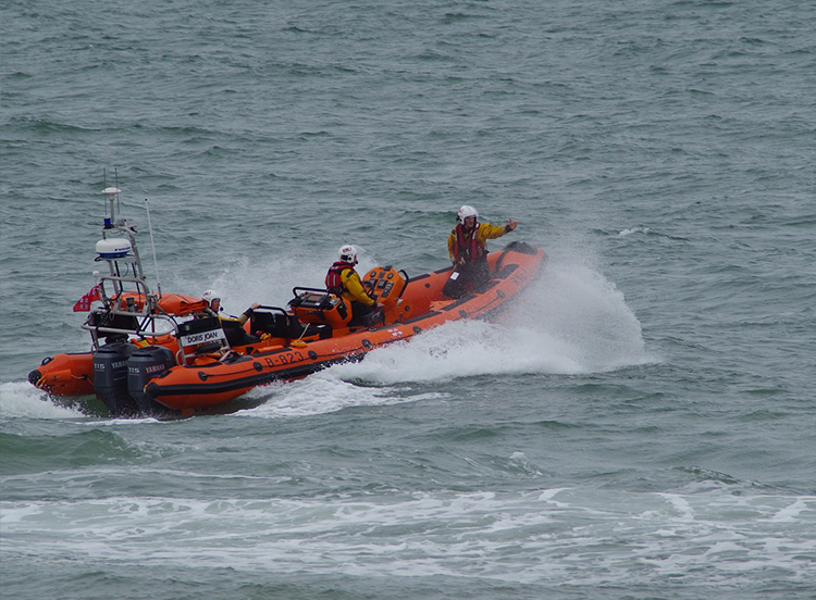RNLI Water Rescue, Helicopter Crash Rescue, Water Rescue, Missing Person Search, Search Camera