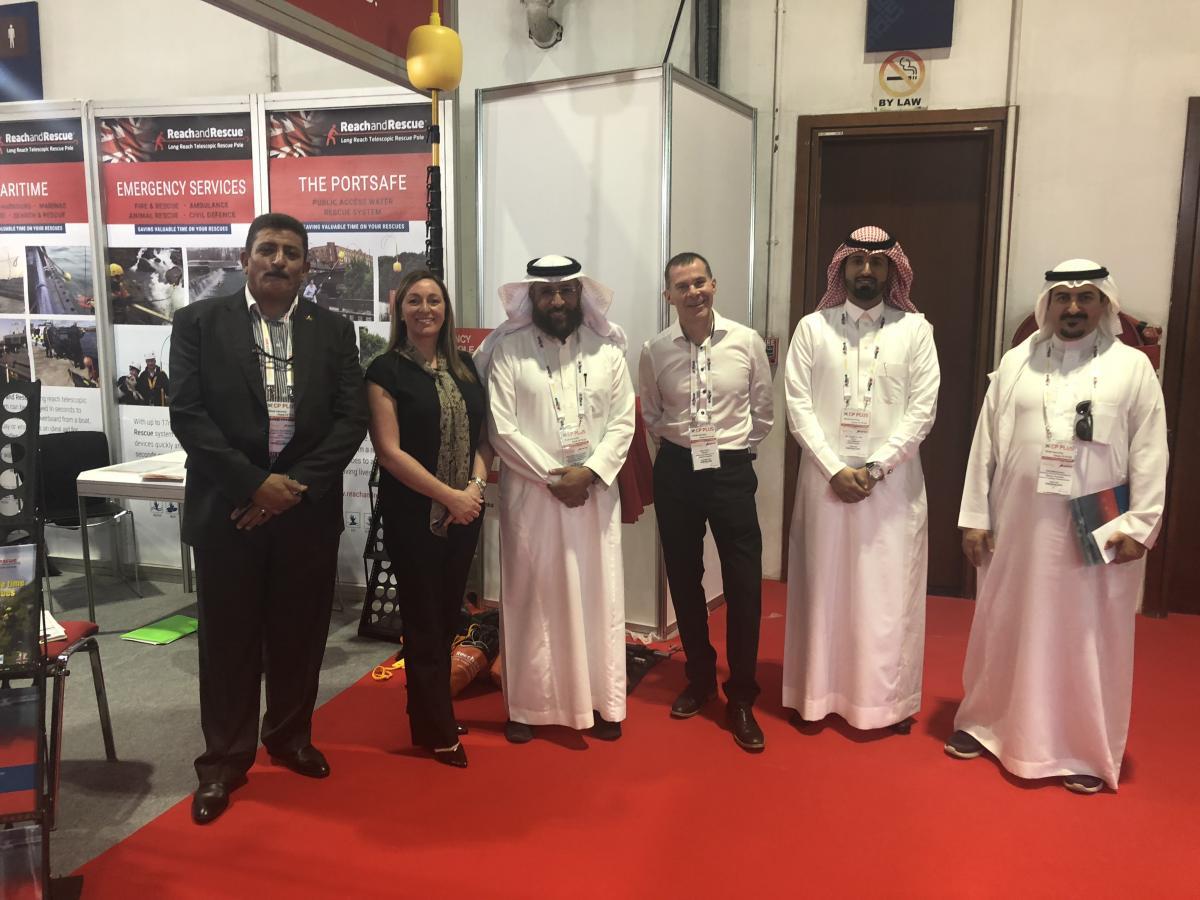 Reach and Rescue with the Saudi Arabian Civil Defence at Intersec 2019 in Dubai