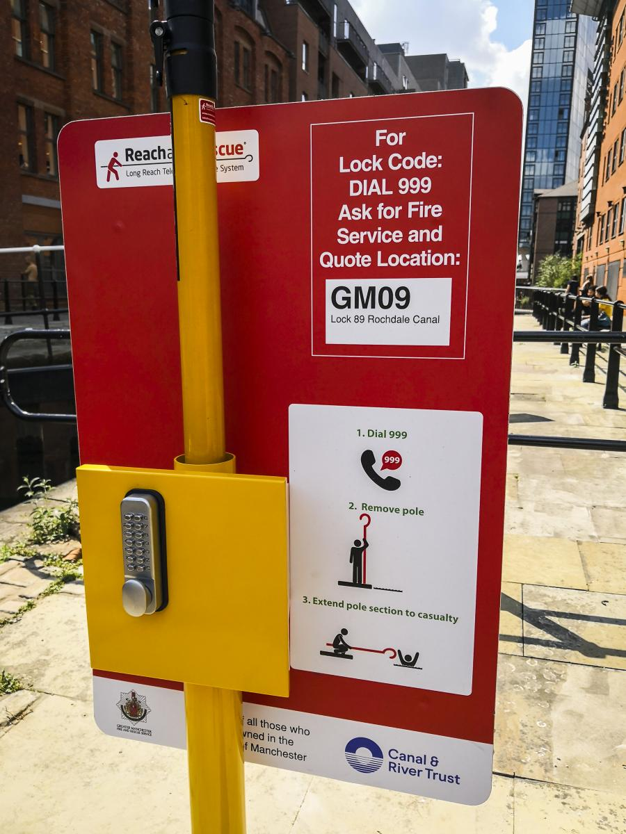 Portsafe in Manchester Installed by Canal and River Trust