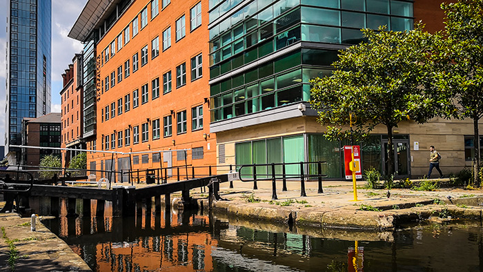 Portsafe Installed at Lock 89 Manchester City Centre by Canal and River Trust to Protect Public from Accidental Drowning