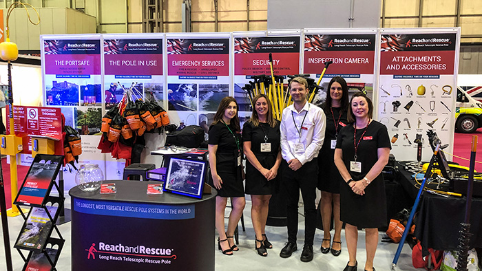 Reach and Rescue at the Emergency Services Show 2019