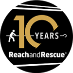 Reach and Rescue 10 Year Anniversary Logo