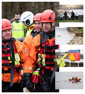 Emergency Services at Greenbooth Reservoir