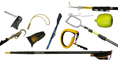 Offshore Rescue Pole Kit