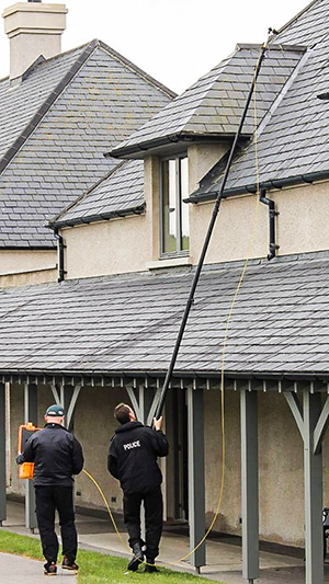 PSNI Utilise Search Camera in Huge G8 Summit Security Operation in Northern Ireland 2013