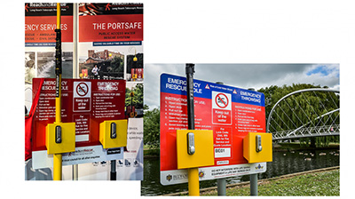 Portsafe Public-Access Water Rescue System