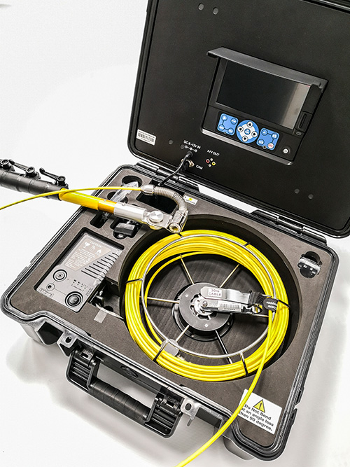 Search and Inspection Camera with 5m Pole
