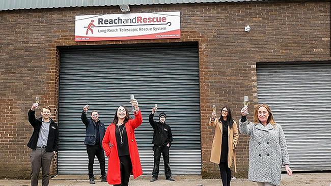 Queen's Award Reach and Rescue Team Photo
